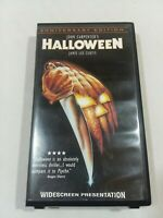 HALLOWEEN Widescreen Anniversary Edition VHS Clam Shell Case Horror