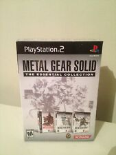 Metal Gear Solid The Essential Collection PS2(Playstation 2, 2008)FACTORY SEALED
