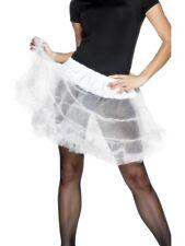 White Layered Petticoat Tutu Underskirt - Ladies Fancy Dress