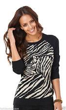 Hüftlange Damen-Pullover & -Strickware mit Tiermuster