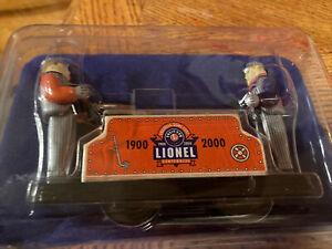 Lionel Railroad Hand Car Centennial Anni 1900-2000 Wind Up