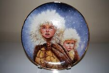 GREGORY PERILLO PLATE CHRISTMAS JOURNEY 1991