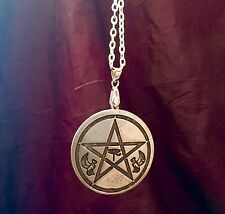 MAGICAL PENTAGRAM OF HORUS & BASTET Occult Egyptian Magic Magick Amulet Talisman