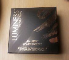 Luminess Alluring Lip Stick & Eye Shadow Compact Nib New