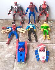 Vintage Spider-Man Lot Of 6 Action Figure 90's Doc Ock Doctor Strange Marvel Toy