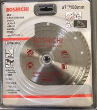 "180mm 7"" Turbo Diamond Cutting Discs Saw Blade Disk Marble Tile Ceramic Concrete"