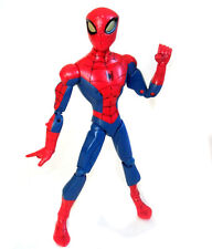 "Marvel Comics SPIDERMAN 10"" Cartoon series Talking poseable figure"