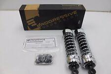 Progressive Suspension - 440-4071C - 440 Series 13in. Shocks, Chrome Harley