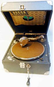 phonographe / VALISETTE  - PATHE  -  BE - fonctionnement ok + manivelle