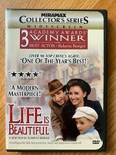 """Life Is Beautiful"" Dvd-Starring Roberto Benigni"