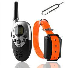 Remote Pet Dog Training Collar 1000 Yard Rechargeable Waterproof LCD Shock Vibra