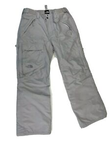 The North Face Womens Ski Pants Sz S P Gray HyVent Snowboard Insulated Snow Pant