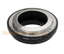 Contax RF Nikon S OUTER Bayonet Lens to Fujifilm Adapter X-T2 X-Pro2 X-H1 X-T100