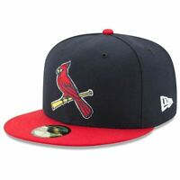 [70360959] Mens New Era MLB Authentic 59Fifty Performance Fitted - Cardinals