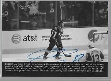 14/15 Masterpieces Wire Photo Auto Ryan O'Reilly 226 Avalanche
