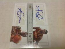 12/13 NATIONAL TREASURES KYRIE IRVING RC WAITERS DUEL AUTO 2/25 JERSEY # 1/1