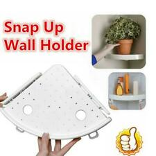 Bathroom Triangular Shower Shelf Corner Rack Organizer Storage Shampoo Holder