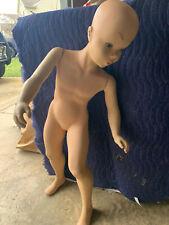 "Vintage SPRITELY by DARLING Girl Mannequin Child 36"" M802GW"