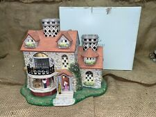 PartyLite Bristol House Olde World Village Tealight House Candle Holder #3 New!