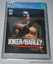 Joker Harley Criminal Insanity 4 Variant DC Black Label DC Comics CGC 9.8