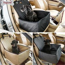 Folding Dog Travel Booster Bag Cat Pet Car Seat Carrier Safety Belt Cover UK J