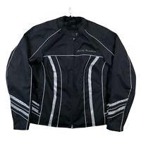 Harley Davidson Illumination 360 Reflective Motorcycle Jacket w/ Liner Size 1W