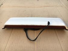 Porsche 968 944 S2 Cabriolet Convertible Trunk 3rd Brake Light Assembly In White