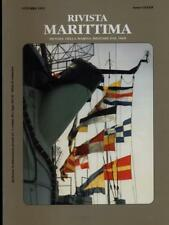 RIVISTA MARITTIMA OTTOBRE 1999 ANNO CXXXII  AA.VV. RIVISTA MARITTIMA 1999