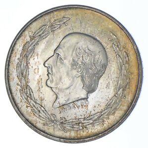 SILVER - WORLD COIN - 1952 Mexico 5 Pesos - World Silver Coin *319