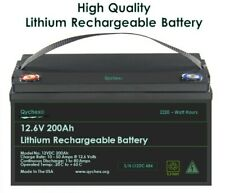 12.6V 200 Ah Off Grid Lithium Battery With Free 12.6V 20A Battery Charger