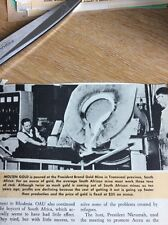 P1-1 Ephemera 1960s picture President Brand Gold Mine S A