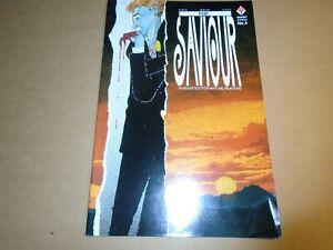 THE SAVIOR #4 Mark Millar Trident Comics 1990 VF