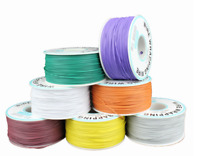 250m/box Electrical Wire Wrapping Wire Wrap Single Strand Copper PCB Cable AWG30