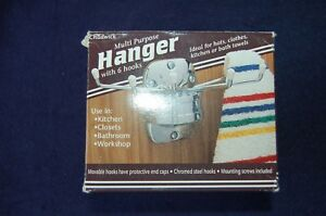 Hook Hanger with 6 hooks chadwick hooks multipurpose