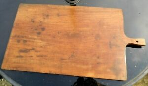 Victorian CHEESE or BREAD board 19th century farmhouse kitchen  LARGE antique
