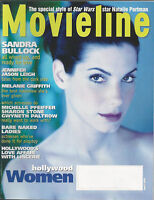 SANDRA BULLOCK Jennifer Jason Leigh MELANIE GRIFFITH 1999 Movieline magazine