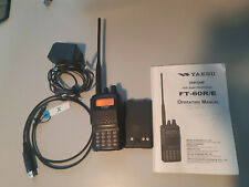 Yaesu FT60R Amateur Radio VHF/UHF Portable Transceiver (HT) with Extras