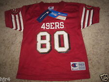 Jerry Rice #80 San Francisco 49ers NFL champion Vintage Jersey Toddler 4T NEW