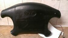 01 02 Kia Sportage Left Drivers Side Wheel Air Bag Black