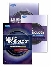 Edexcel AS/A2 Music Technology Exam Pack Learn to Play Study Student Guide Pack