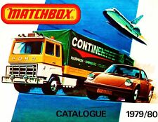 1979/80 MATCHBOX COLLECTOR'S CATALOG--MATCHBOX CATALOG