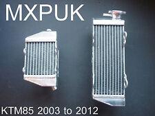 KTM85 2005 RADIATEURS 2003 à 2012 Neuf Radiateurs Performance SX 85 KTM (044)