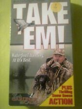 Take 'Em! - Waterfowl Hunting at Its Best VHS duck hunting calling snow goose