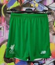 125 Years Liverpool FC Football Soccer Training Shorts Youth Size XL / Mens XS