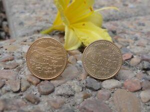 Nepali Rupee Coin Cufflinks Coin Money Nepal Jewelry Everest Asian Kathmandu