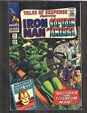 Tales of Suspense #81 - (Fn+) Cap America / Iron Man - Wh
