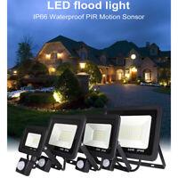 10W/30W/50W Projecteur LED détecteur de mouvement Eclairage Extérieur LED
