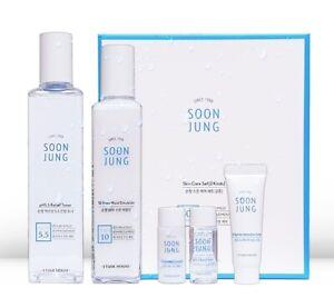 New ETUDE HOUSE Soon Jung Skincare Set 2pcs Mild Moisture Sensitive Korea Beauty