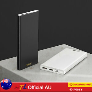 【HTL】10000 20000mAh Thin Power Bank 2USB TypeC Micro Fast Charging For Mobile