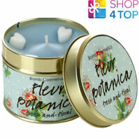 FLEUR BOTANICA TINNED CANDLE TIN BOMB COSMETICS FLORAL SCENTED NEW